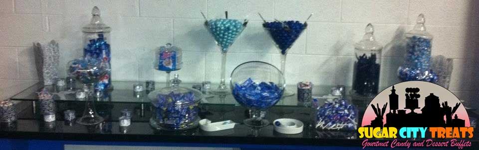 Candy buffet for Sweet 16