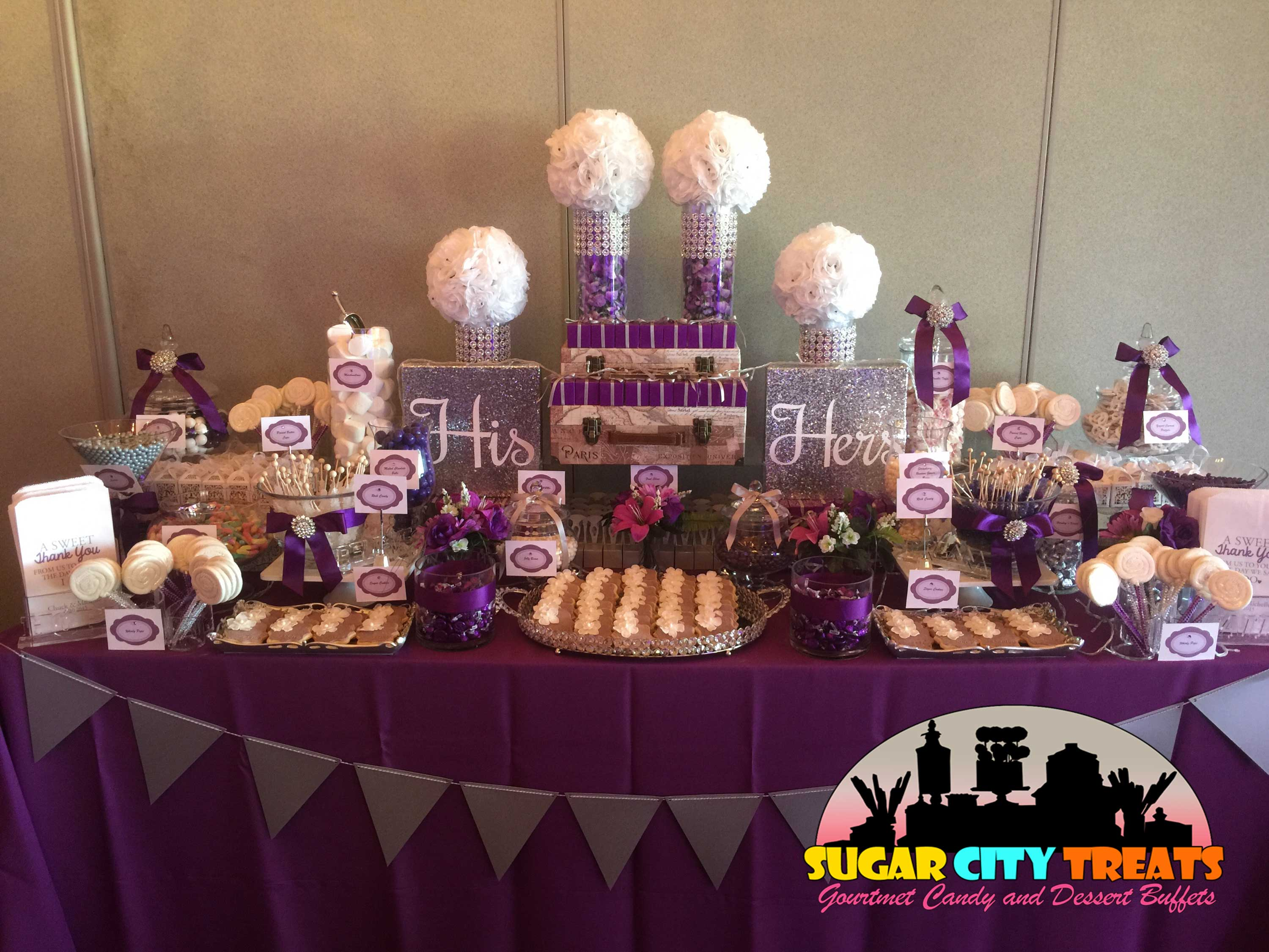 Candy Buffet For Birthday Party Weddings Quinces Sweet 16 Baby Shower Bridal And More