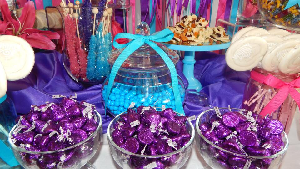 Wedding Candy Buffet Rental